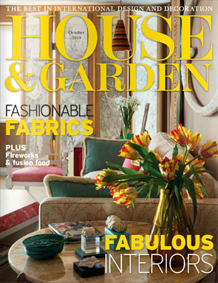 House and Garden October 2014
