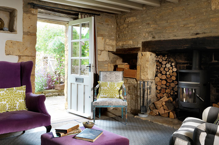 Mullions: Cotswold cottage interior
